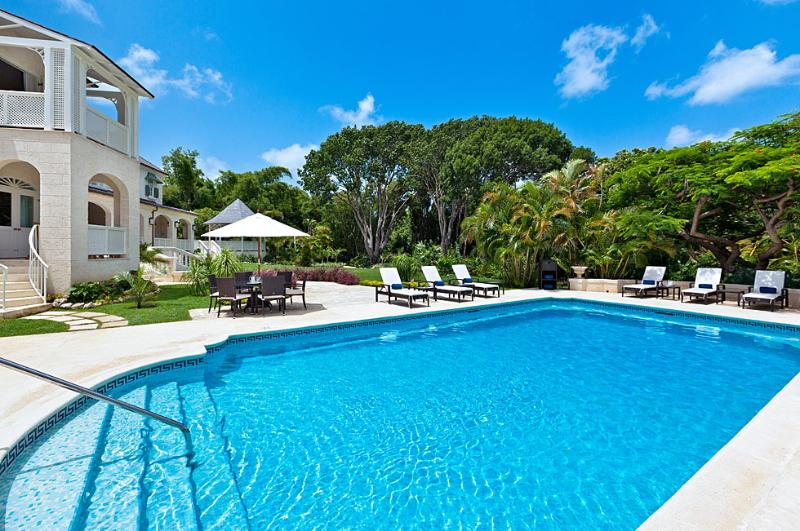 The pool at Windward - Windward luxury villa in Sandy Lane, Barbados - Barbados - rentals