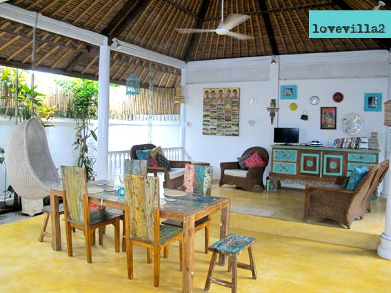 Love Villa2 open living - Love Villa 2 5mins walk to 66Beach Legian Seminyak - Legian - rentals
