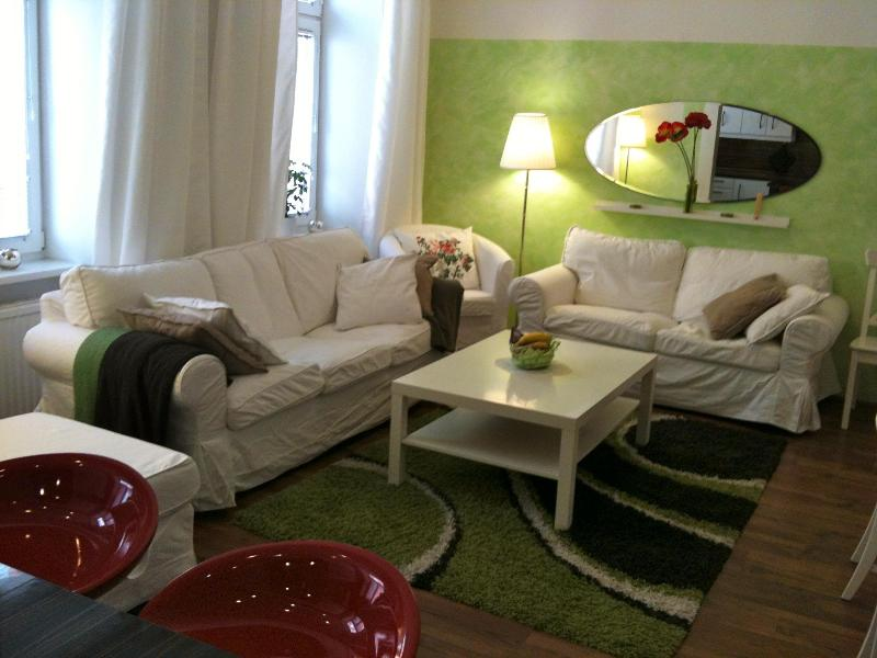 Spacious and cosy living room. - Next to Palace Schönbrunn - Apt. 6 - Vienna - rentals