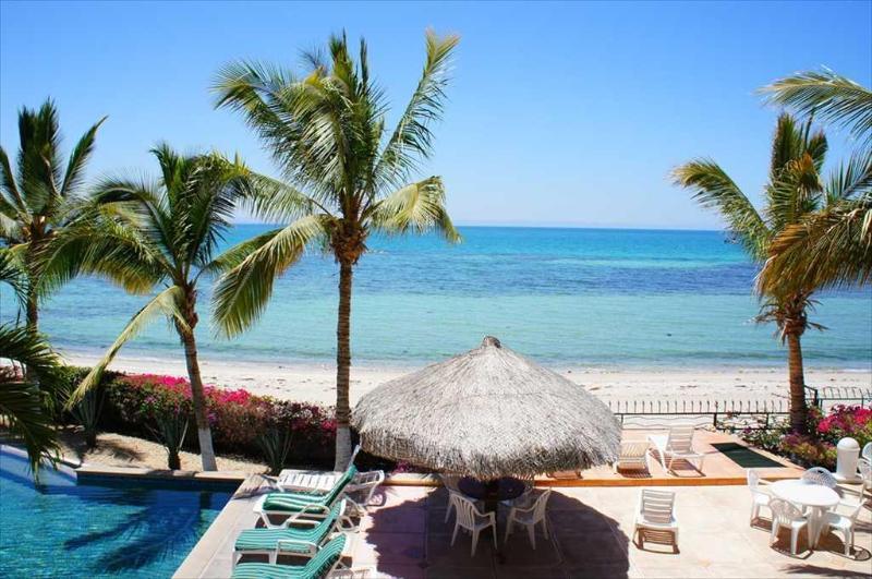 View from the terrace - 205 Condominium at La Concha Beach Resort - La Paz - rentals