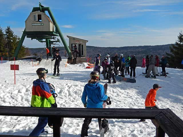 Top Of Powder Monkey Ski Lift from your front deck. - Powder Monkey - 14 - Snowshoe - rentals