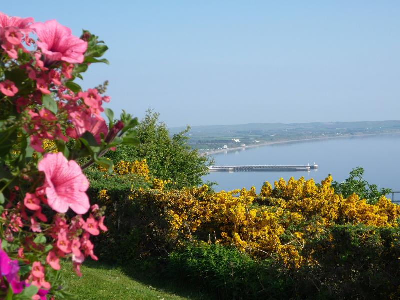 Veiw from Blubell over Ramsey Bay - Ballure Holiday Homes, Maughold, Isle of Man. - Maughold - rentals