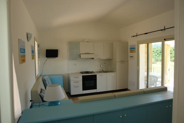 kitchen/living space - One bedroom apartment  in Arzachena, Sardinia - Arzachena - rentals