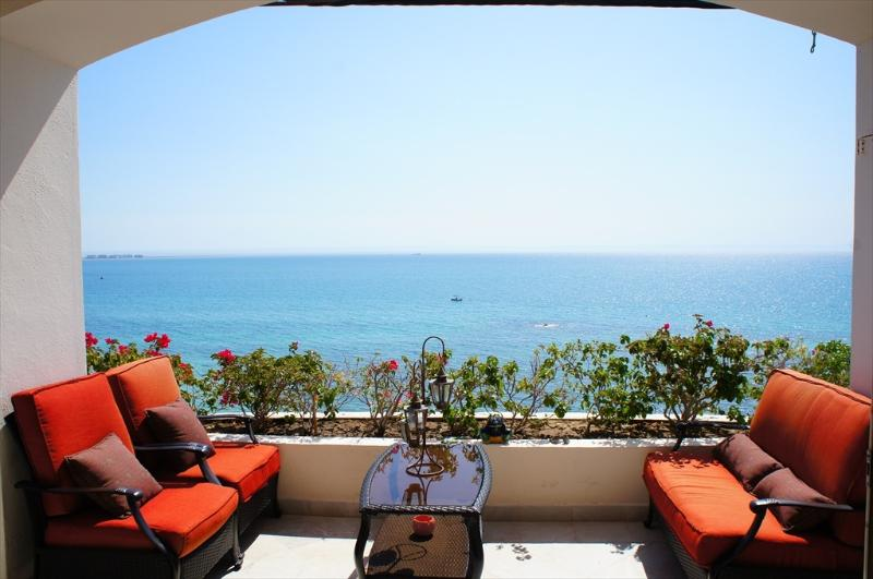 Terrace Sofas - 603 Condominium at La Concha Beach Resort - La Paz - rentals
