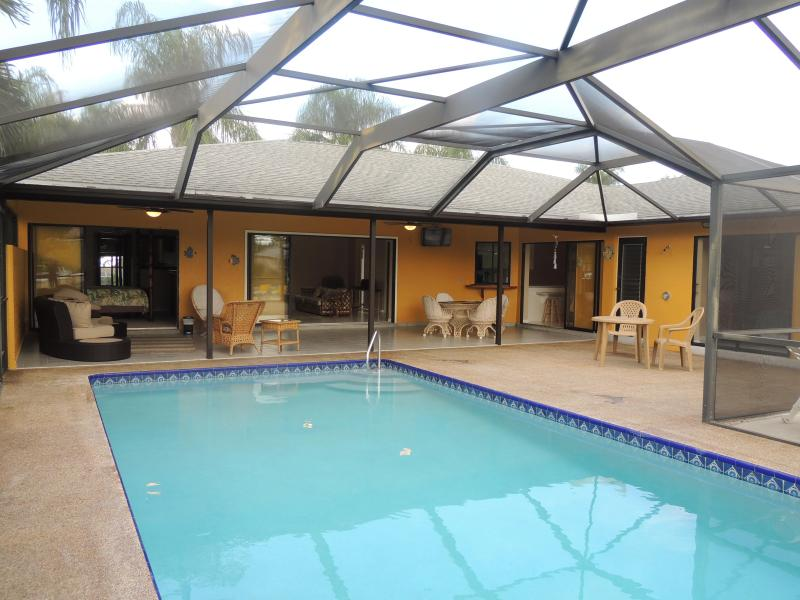 SW Gulf Access Pool Home with Southern Exposure - Image 1 - Cape Coral - rentals
