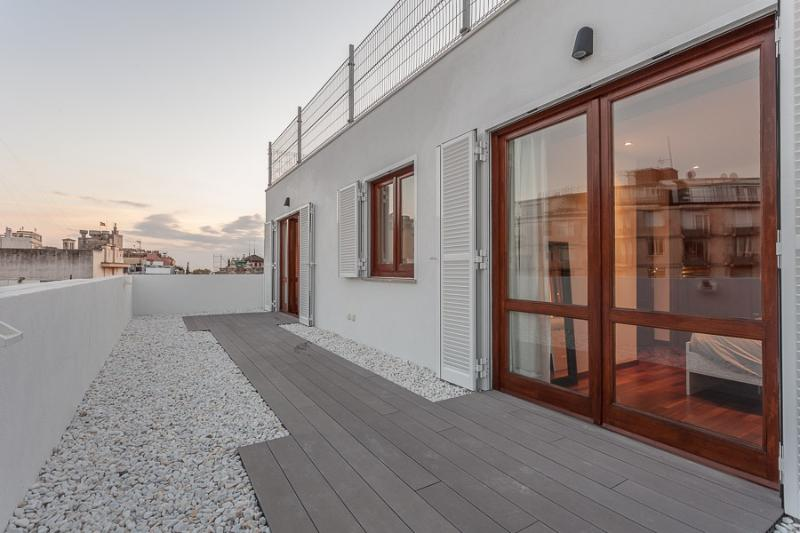 Terrace - Fantastic attic with terrace placed in the center! - Palma de Mallorca - rentals
