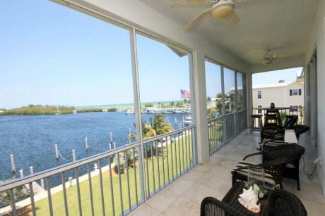 Breathtaking views from balcony - Islamorada Luxury Waterfront Condo with Boat Slip - Islamorada - rentals