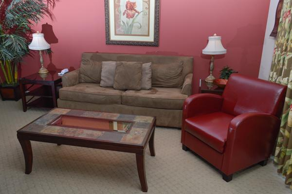 Comfy seating in a spacious living area - f31167e0-0e88-11e3-9797-b8ac6f94ad6a - North Myrtle Beach - rentals