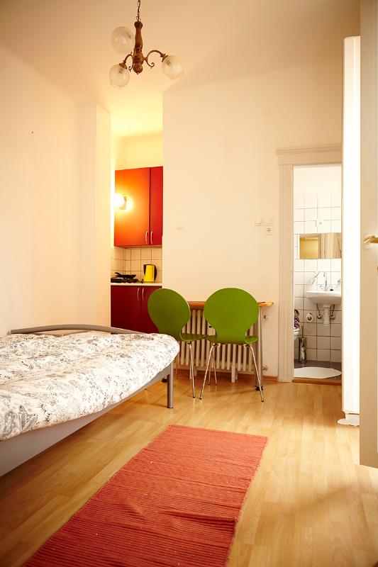 Láng Apartment-tiny but quiet, clean and friendly - Image 1 - Budapest - rentals