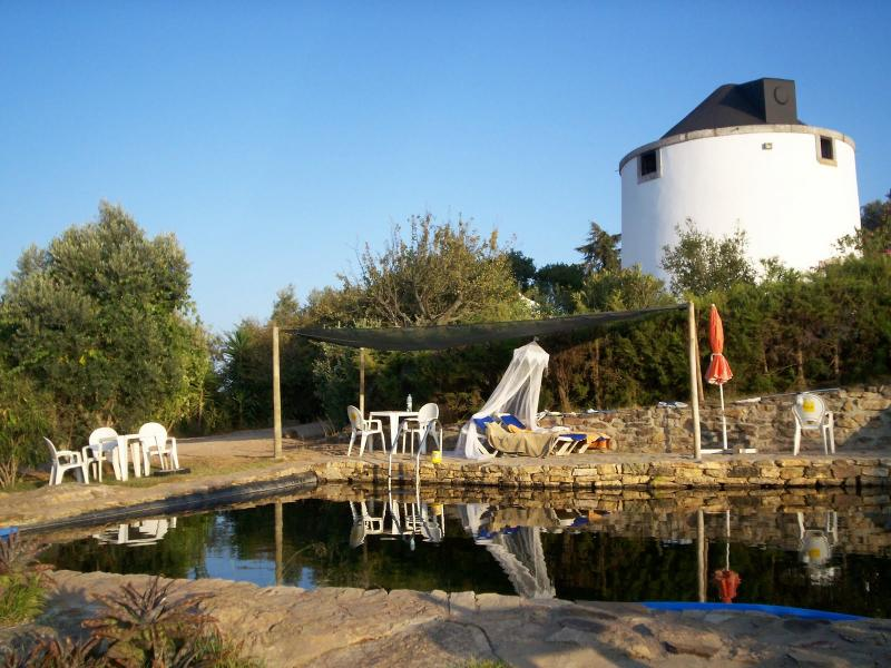 Windmill behind the biologic Swimmingpool - Windmill, *  where heaven kisses the earth * - Santiago do Cacem - rentals