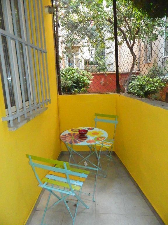 Terrace - Comfy Flat in Taksim / Cihangir - Istanbul - rentals