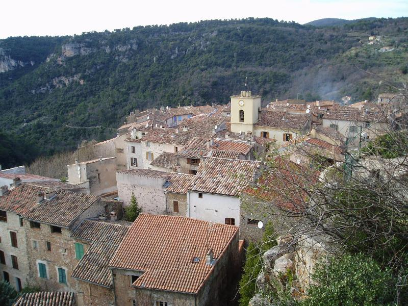 The Village from above - Village house in charming Chateaudouble - Chateaudouble - rentals