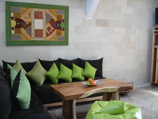 this is our living room - Villa Naree 1 with pool, Batubelig, Seminyak - Kuta - rentals