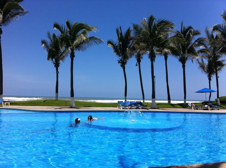 POOLS - OCEAN FRONT APART.ACAPULCO, MAYAN ISLAND,TULUM 103 - Acapulco - rentals