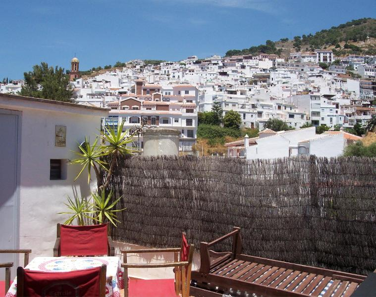 View from sun terrace - Traditional Andalucian Village House - Competa - rentals