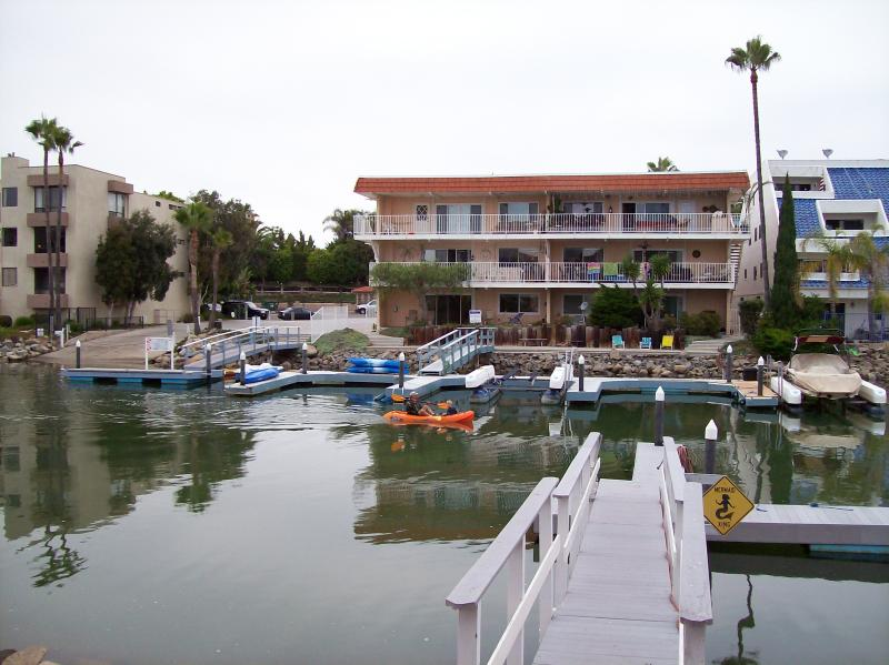 Picture from the common area - Beach Condo on the Marina - Carlsbad - rentals