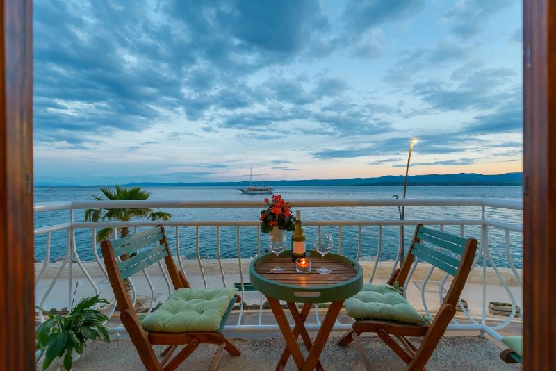 View from balcony - TOP LOCATION! BEACH & CENTER apartment in BOL - Bol - rentals