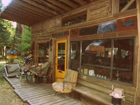 Studio Edge of the West log cabin - EDGE of the WEST - Log Cabin Studio - Savary Island - rentals