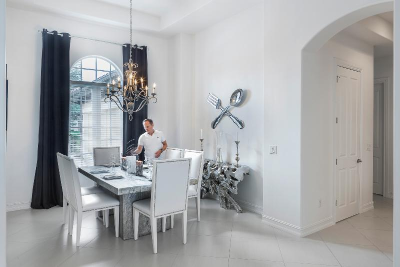 Dining room - One Of Kind Brand New Luxury Home At Naples - Just - Naples - rentals