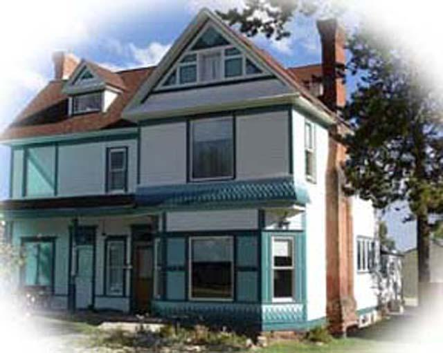 Outside of the Governor's Mansion - Governor's Mansion-Jesse McDonald Suite - Leadville - rentals