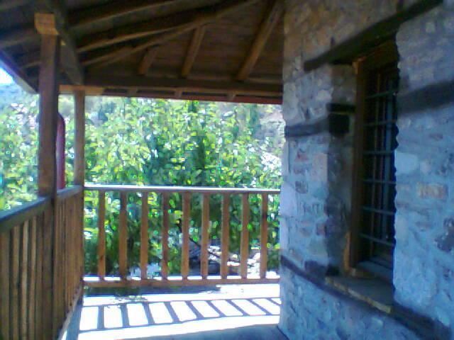 balcony - Mount Olympus cottage - Panteleimon - rentals