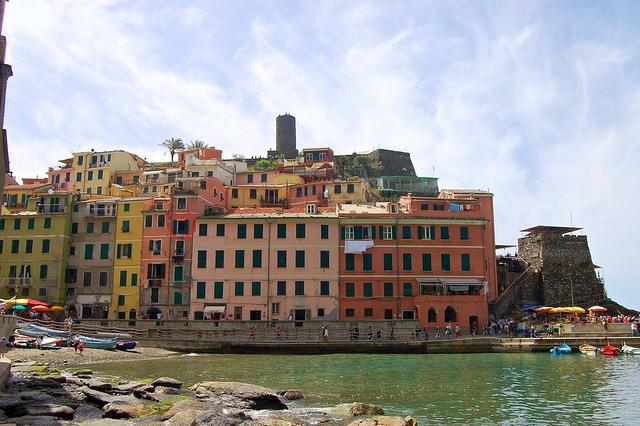 Location of Apartment - Campanin - modern, stylish apartment with amazing - Vernazza - rentals