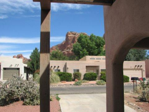 Looking out the front door - Pet Friendly Golfers and Hikers Paradise!! - Sedona - rentals
