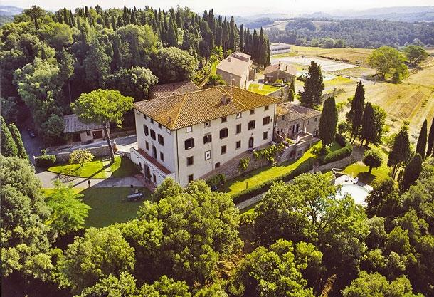 Villa Marchese Large villa to rent near San Gimignano, Tuscany - Villa rental San Gimignano - Image 1 - Gambassi Terme - rentals
