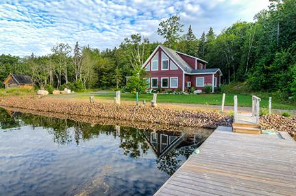 Clarks Cove Cottage - #5 Clarks Cove Cottage, Orangedale  NS - Nova Scotia - rentals