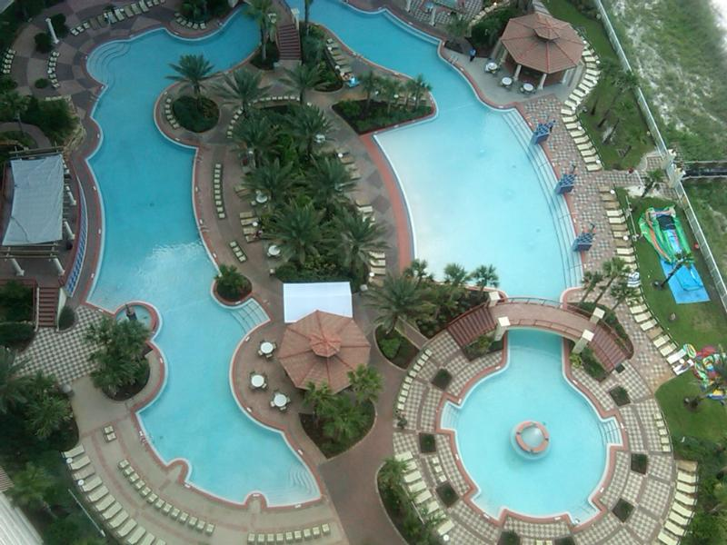 Fabulous pool - 2 Bedroom Tropical Penthouse with Pool - Panama City Beach - rentals