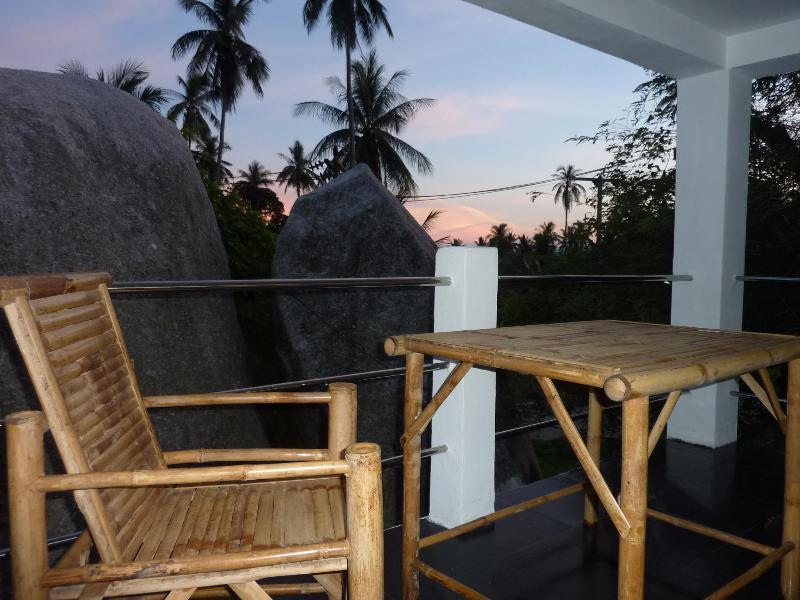 Balcony - 1 bedroom Sea View Condo Special Price : May-June - Koh Samui - rentals