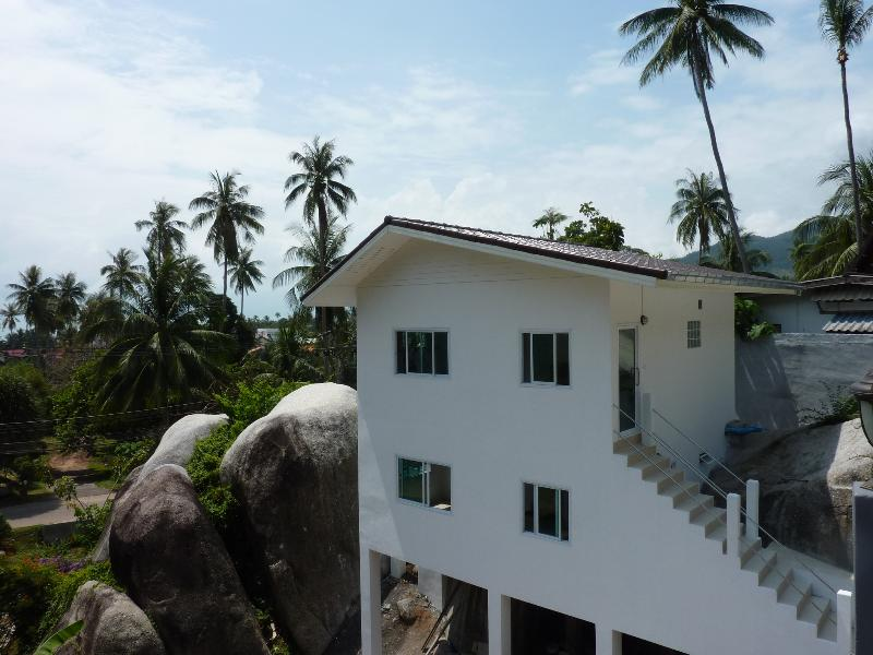 House from outside - Stunning 1 bedroom Sea View Condo - Koh Samui - rentals