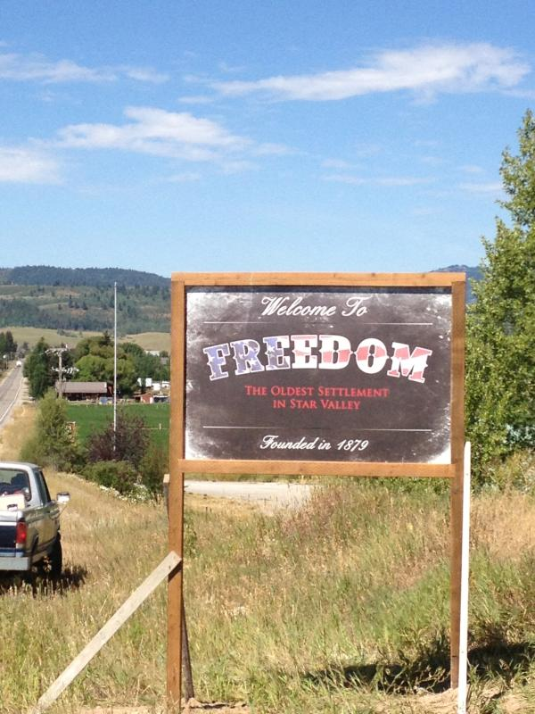 Welcome to Freedom, The Oldest Settlement in Star Valley - Amazing Star Valley, Freedom, Wyoming near Jackson - Freedom - rentals