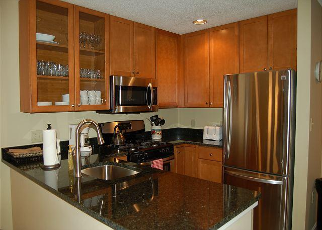 Kitchen - Winterplace Ground Floor 3 Bedroom Ski In/Out - Ludlow - rentals