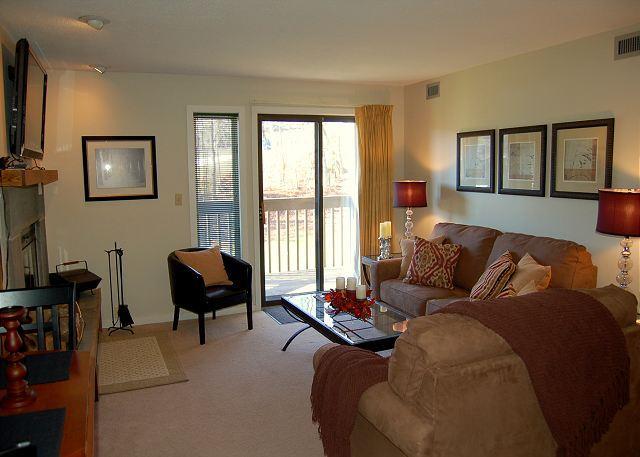 Living Room - Okemo Mtn Lodge C Building - Ludlow - rentals