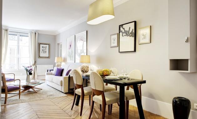 Apartment Marivaux Paris apartment 2nd, Paris flat in city center, Paris weekly rental, two bedroom rental Paris - Image 1 - 2nd Arrondissement Bourse - rentals