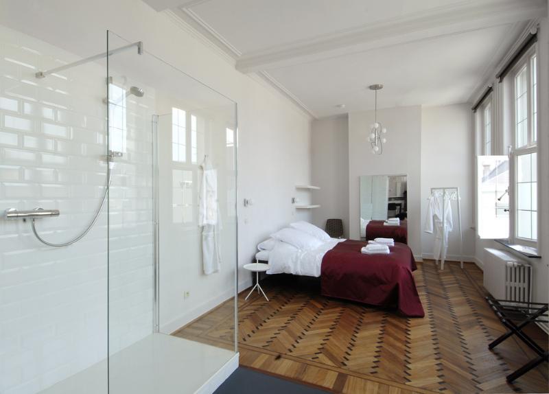 Apartment 'Verenhoed', bedroom - City apartments between Ghent & Bruges - Tielt - rentals
