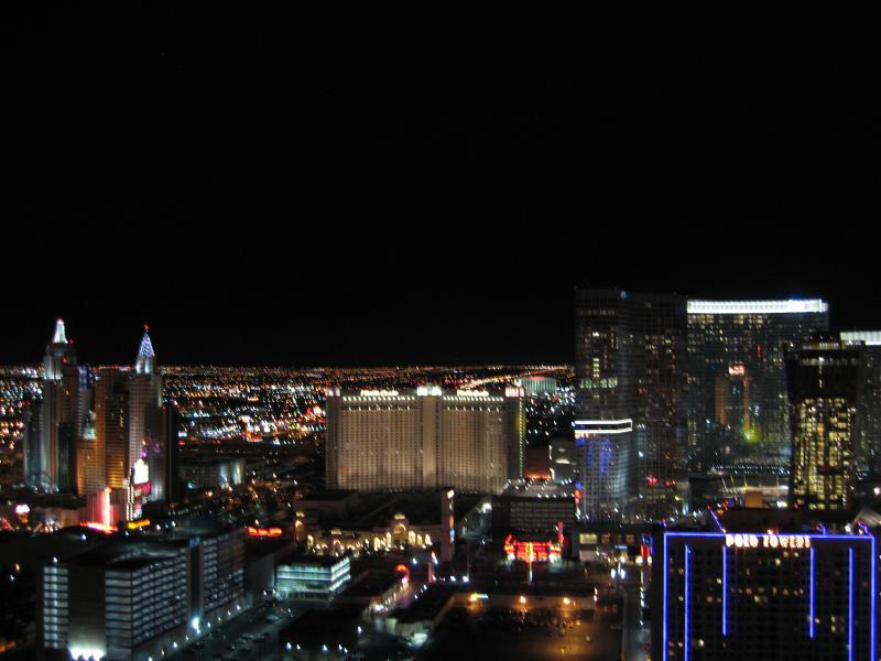 Amazing strip view from penthouse balcony - Mgm Signature Penthouse W/strip View & Balcony! - Las Vegas - rentals