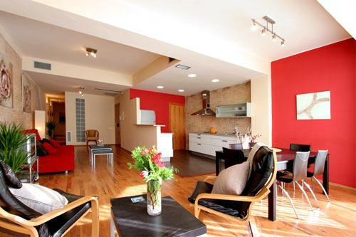 Apartment Barcelona Living room - Great and Spacious Apartment 3 br in the center of Barcelona - Barcelona - rentals