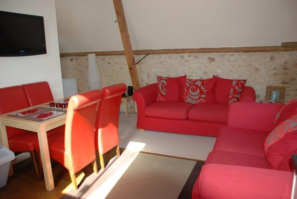 Lounge and Dining Area - The Hayloft, 2 bedroom barn conversion Devon - Kilmington - rentals