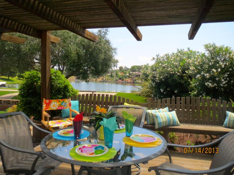 Patio Over Looking the Lake - A HIDDEN GEM - Lake San Marcos - rentals