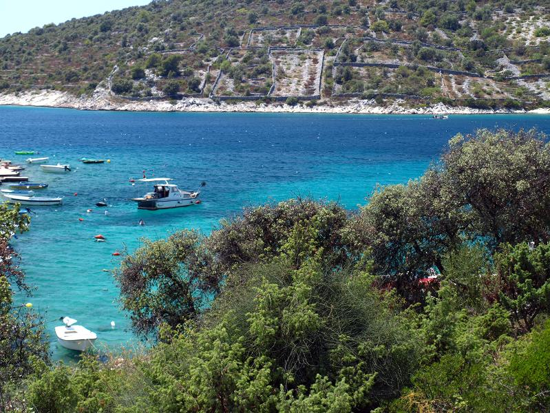 Stunning view from terrace on crystal blue Adriatic sea! - Amazing villa by the sea - Sevid - rentals