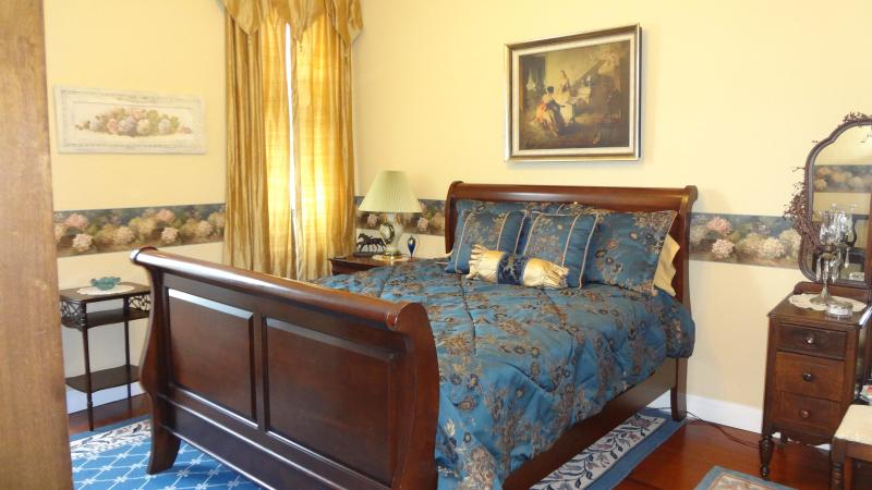 Chardonnay Apartment Bedroom - Large apartment on Granbury's Historic Square - Granbury - rentals