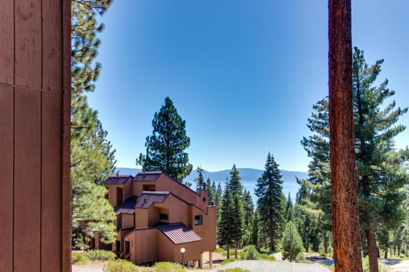 Convenient lakeview condo w/shared pool, hot tub, sauna - Image 1 - Carnelian Bay - rentals