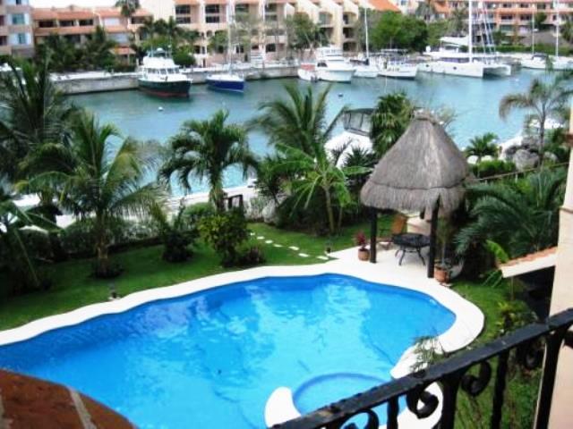 MAYA - TAMA2 -Waterfron condo with views to the caribbean Sea. - Image 1 - Puerto Aventuras - rentals