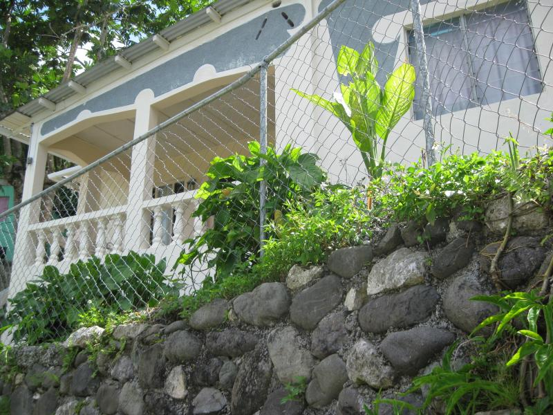 Front view of cottage - PINEAPPLE HILL SEA VIEW COTTAGE - Port Antonio - rentals