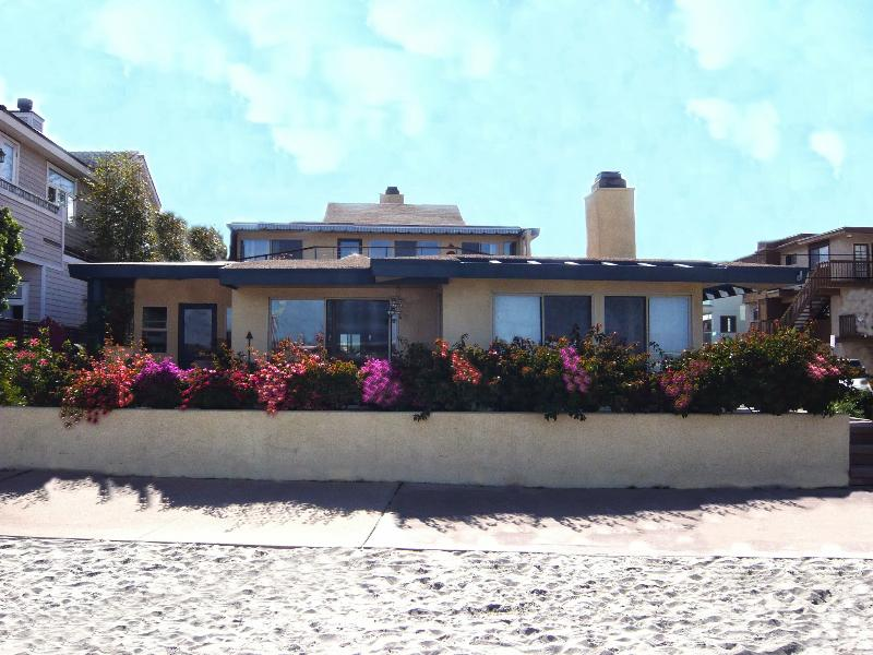 Bay Front House - Pacific Sunset Group's Beachfront House 3BR/2.25BA - Pacific Beach - rentals