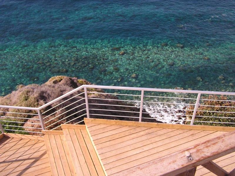 Terraza /Terrace - Casa tradicional frente al mar, Norte de Tenerife - San Juan de la Rambla - rentals