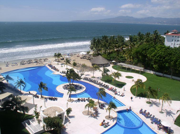 View from the balcony - Best value in Vallarta . Dreams Villamagna Condo - Nuevo Vallarta - rentals