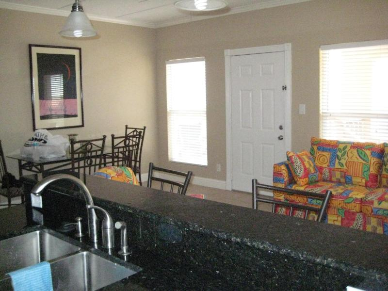 Open Kitchen, Dining, Living Area - Beachview, Tropical Breezes, Spi, Tx - South Padre Island - rentals